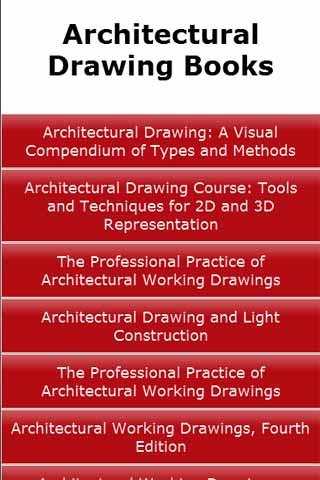 Architectural Drawing Books