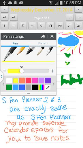 S Pen Planner 2