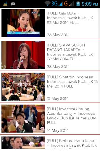 INDONESIA LAWAK KLUB ILK