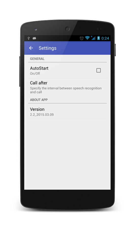 Voice Call Dialer- screenshot