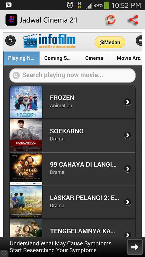 Jadwal Film Bioskop Cinema 21 Google Play Store Revenue Download