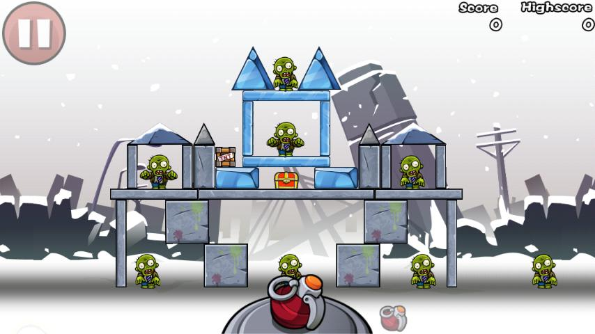 Bomb The Zombies - screenshot
