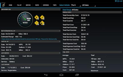 DriverDiary - Gas Mileage Screenshot 9