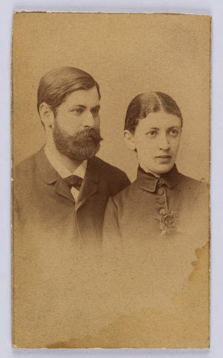 Sigmund and Martha Freud, 1886