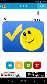 Math Practice Flash Cards Screenshot 6
