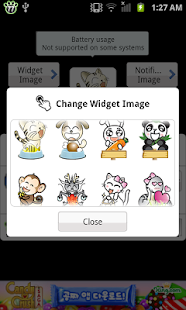 Battery widget Z- screenshot thumbnail