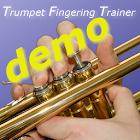 Trumpet Fingering Trainer Demo icon