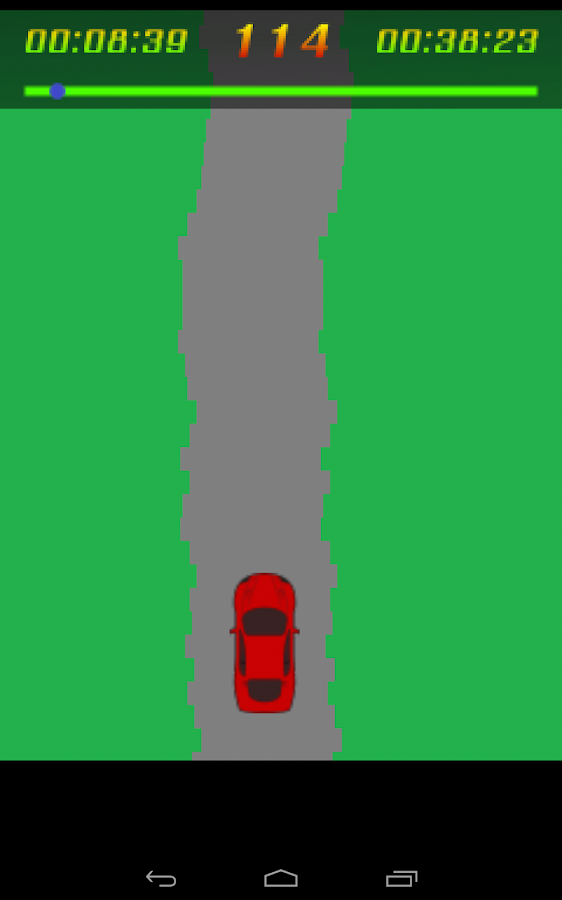 Racing Game - screenshot