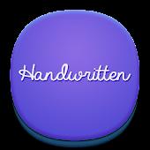 Handwritten Font for Flipfont