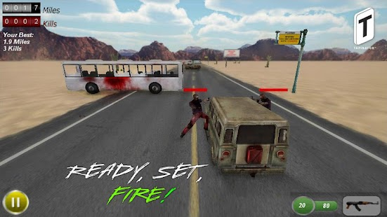 Drive with Zombies Pro- screenshot thumbnail