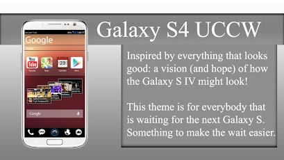 Galaxy S4 theme (UCCW) v2 0 Apk Mediafire Download Free
