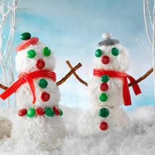 Rice Krispies* Snowman.