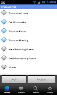 TreasureNet Forum - screenshot thumbnail