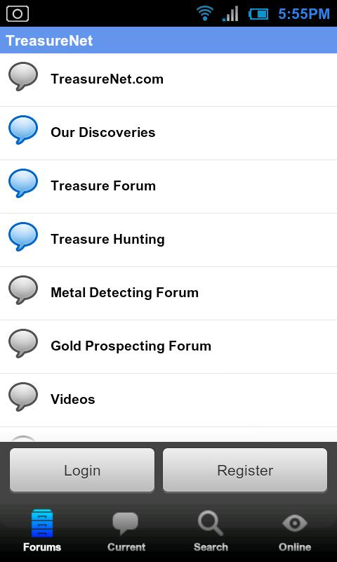 TreasureNet Forum- screenshot