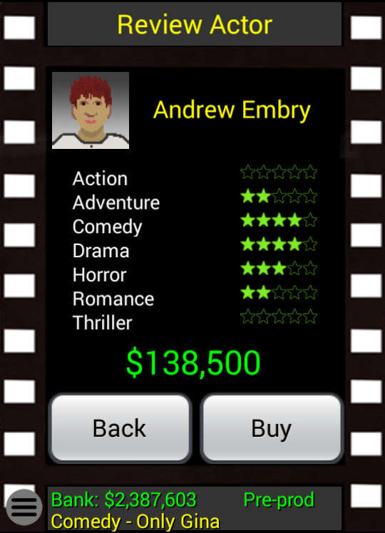 Movie Mogul- screenshot