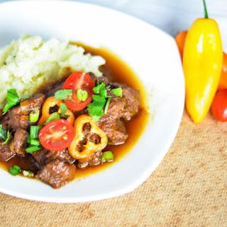 Caribbean Beef Stew (Karni Stoba)