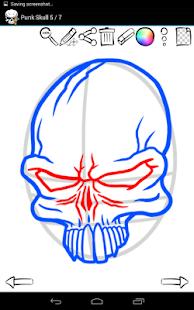 如何绘制:纹身头骨|玩教育App免費|玩APPs