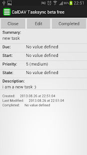 CalDAV Tasksync beta free - screenshot thumbnail