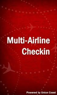 Airline Checkin