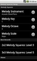 Screenshot of Melody Squares