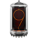 Retro clock. Nixie. Widget icon