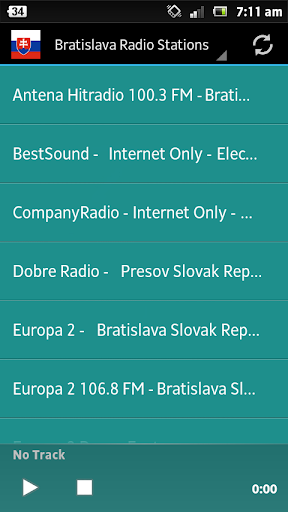 Bratislava Radio Stations