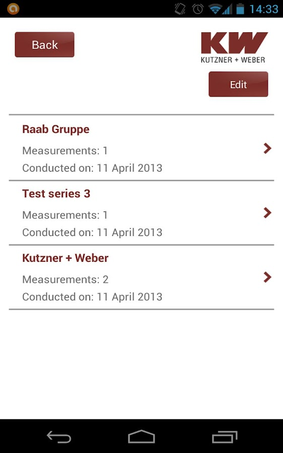 KW Schallmessapp- screenshot