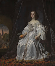 Mary Stuart, Princess of Orange, as Widow of William II
