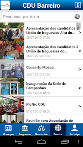 CDU Barreiro screenshot 4