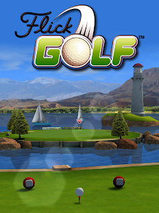 Flick Golf! Free - screenshot thumbnail