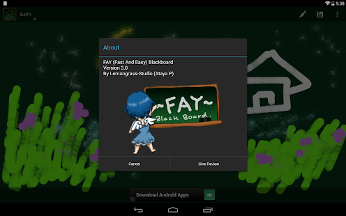 Fay Black Board- screenshot thumbnail