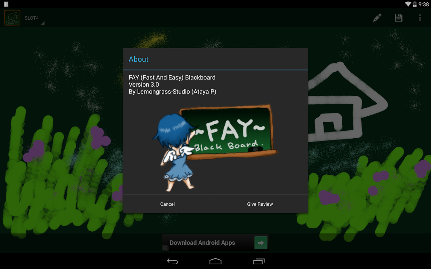 Fay Black Board- screenshot