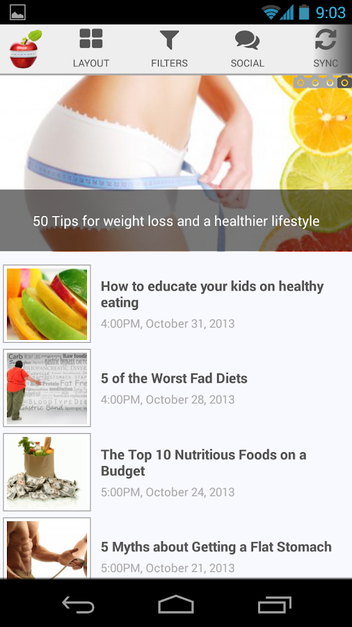 How to lose weight- screenshot