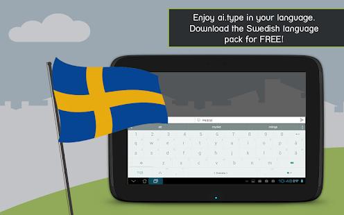 ai.type Swedish Predictionary