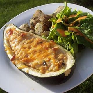 Savory Stuffed Zucchini