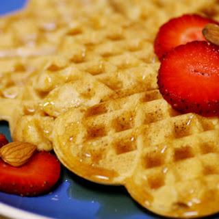 Soy Almond Waffles