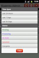 Screenshot of Magento Admin