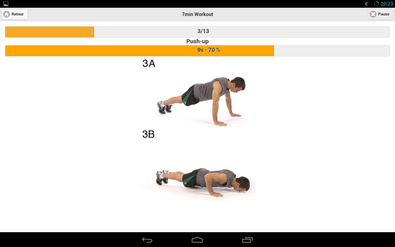 7 Minutes Workout - screenshot