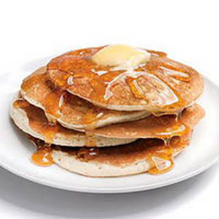 Fluffy Pancakes with Syrup.