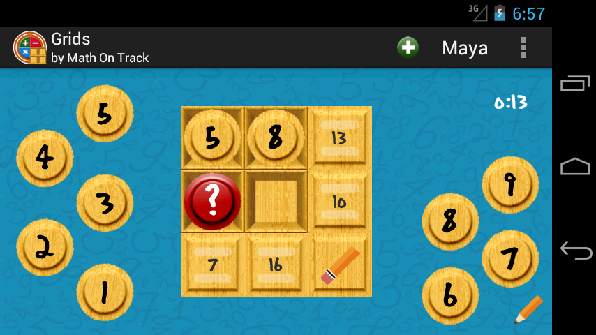 Grids by Math On Track- screenshot