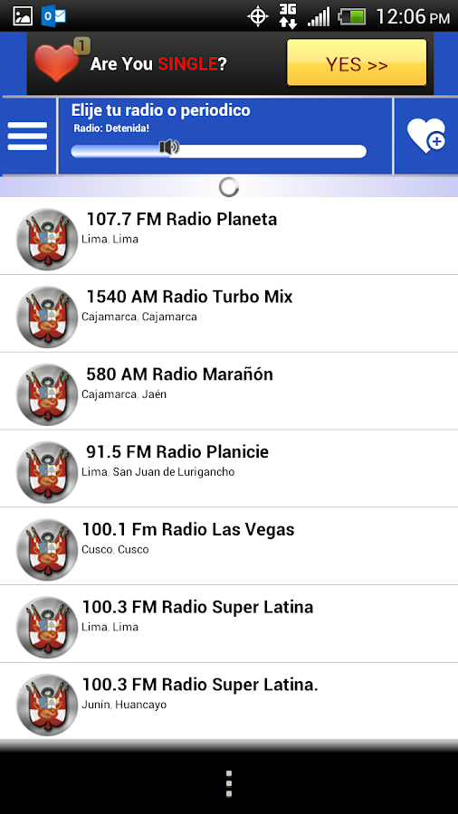 Peru Guide Radio News Papers - screenshot