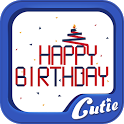 Birthday Theme TextCutie icon