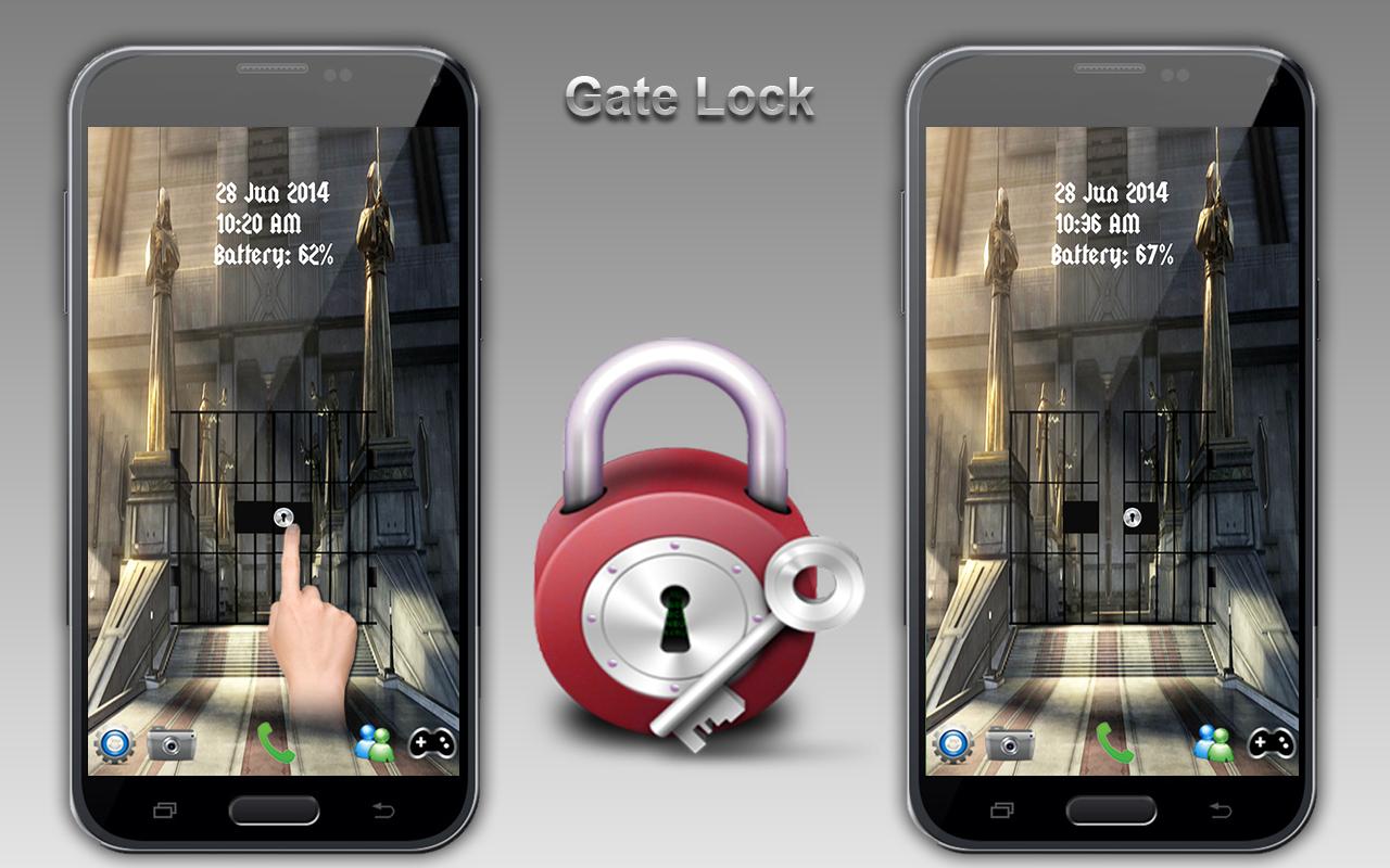 Multi Door Screen Lock - screenshot