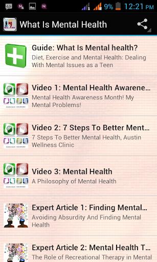免費健康App|What Is Mental Health?|阿達玩APP