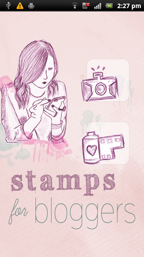 Stamps for Bloggers- screenshot