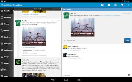 Friendcaster Pro Screenshot 1