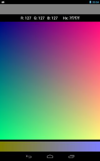 Palette RGB