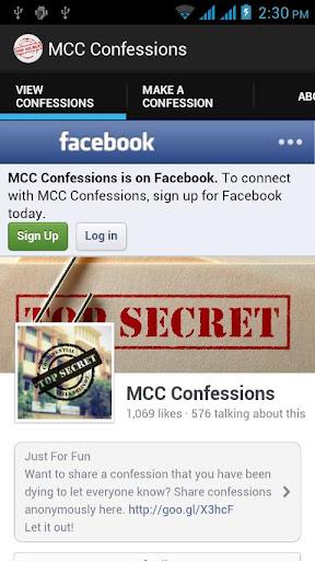 MCC Confessions