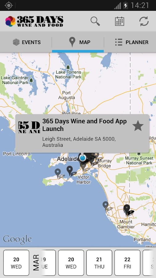 365 Days of Wine and Food- screenshot