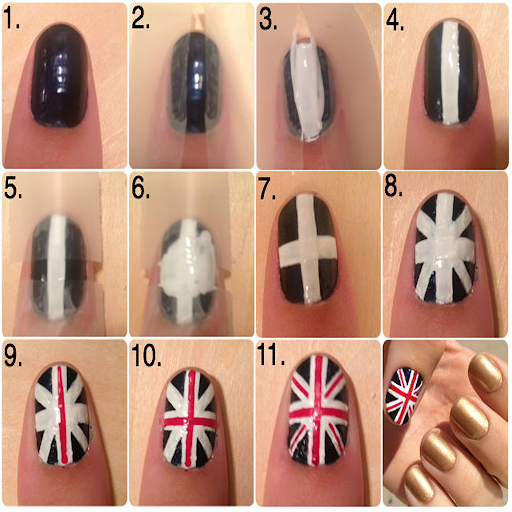 Nail Designs by step